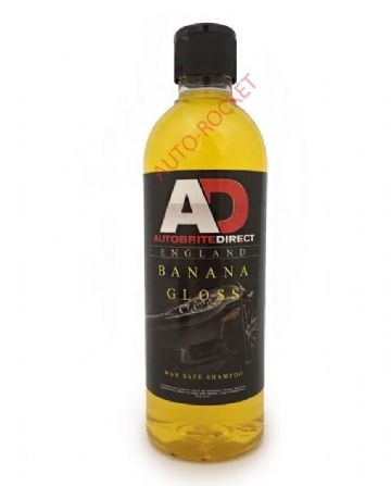 Autobrite Direct - Banana Gloss, Hyper Concentrated Car Shampoo 500ml